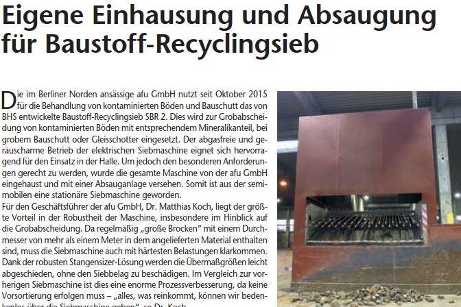 recycling aktiv 1/2016