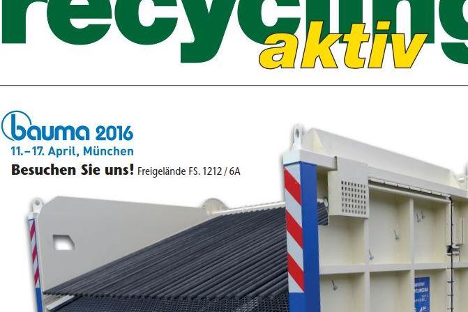 recycling aktiv 2/2016