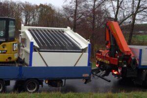 Transport auf Anhänger ab 2.420 mm Ladebordmaß